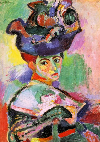 Henri Matisse - Woman with a hat - 1905