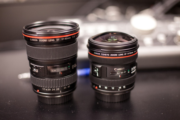 Canon 17-40mm Lens vs. Canon 8-15mm Lens